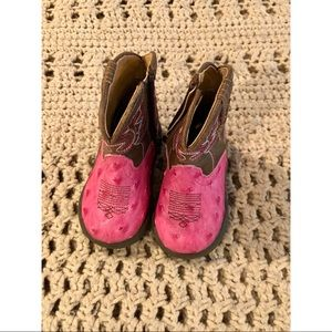 The cutest, tiniest cowgirl boots ever!